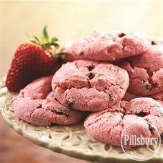 #Strawberry Angel #Cookies from Pillsbury® Baking