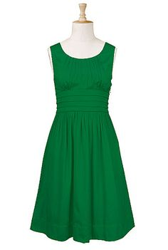 Cotton dress. $60