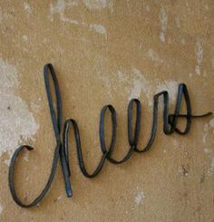 Cheers Wall Sculpture Add Cheer to Any Wall with This Metal Wall Sculpture
