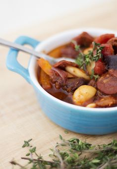 Chorizo & Butter Bean Stew Recipe