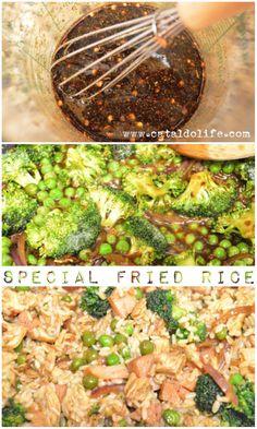 Special Fried Rice #recipe #apeekintomyparadise #tastytuesdays