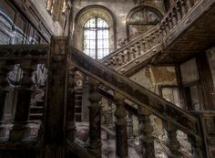 Abandoned Mansion.