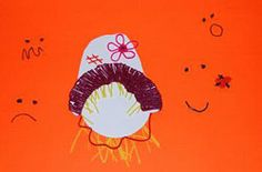 "Scarecrow ""Feelings Faces"" - a created harvest activity for #preschool and #kindergarten"