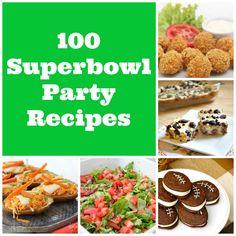 100 Super Bowl Party