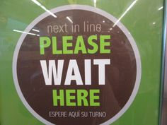 """""""Poor people encounter signs like this every day. They wait in line to hand in paperwork for assistance. They wait in line at food banks, at..."""