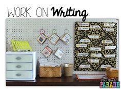 Work on Writing: Writing Center