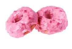 Strawberry-Buttermilk Baked Doughnuts