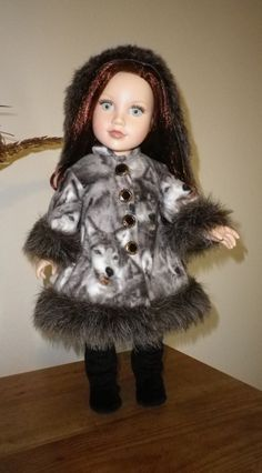 How to Make a Doll Coat Pt. 10