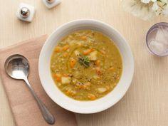 ina garten split pea soup, ham, food network, bones, barefoot contessa, carrots, parker split, broths, soup recipes