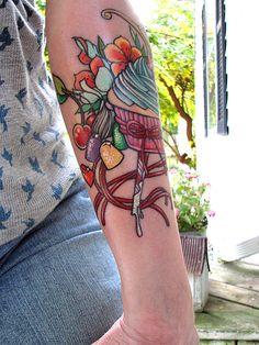 Food tattoo inspiration