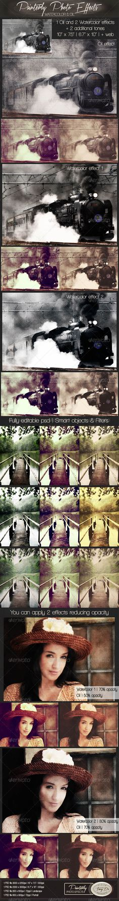 Painterly Photo Effects