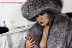 THE... Face of Fur Fetishism!  www.fetishmistressuk.com