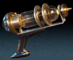 Steampunk Ray gun.
