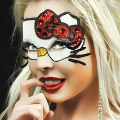d.i.y. hello kitty costume.