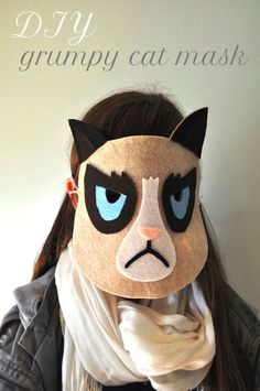 Grumpy Cat is not amused... but you will be, with this purrfect DIY!