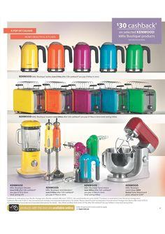 colourful appliances!