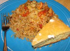 Louisiana Crawfish Casserole Recipe