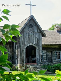 St. Joseph on the Mountain Episcopal Church ~ Patina Paradise