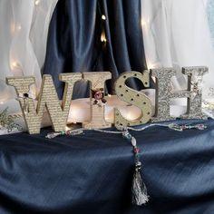 Wish Inspirational Letter Plaque Set decor ii, letter plaqu, inspir letter, inspir item, plaqu set, letters, christma