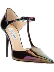 Jimmy Choo Pointed Toe Pump in Multicolor (multicolour)