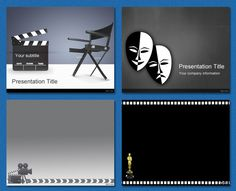 #PowerPoint #Templates - Film and Theater