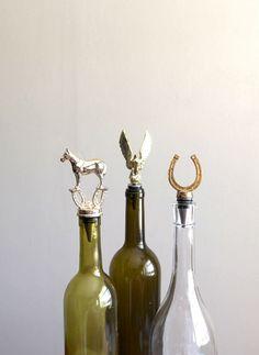 Vintage Trophy Wine Bottle Stoppers