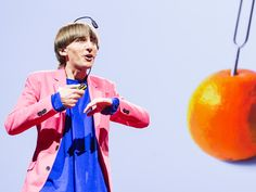 I listen to color; http://www.ted.com/talks/neil_harbisson_i_listen_to_color.html