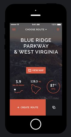 Choose Route #mobile #app #design #ui #interface