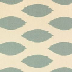 Chipper Village Blue/Natural Printed by Premier Prints - Drapery Fabric