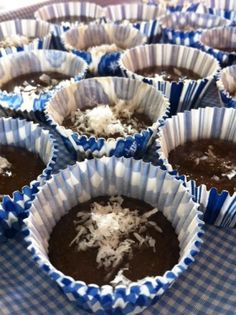 Nutritious Chocolate Protein Cups - free from gluten, dairy, grains, soy, peanuts, tree nuts, eggs, and best of all SUGAR-FREE! :)