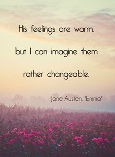jane austen quotes emma
