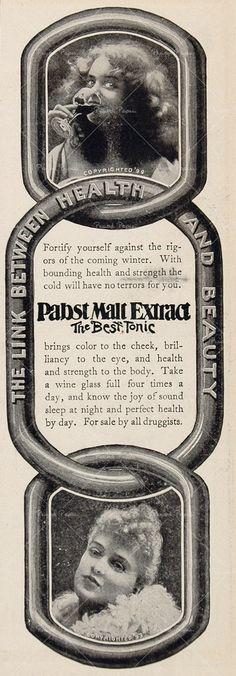 1901 Ad Pabst Malt Extract