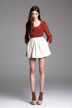 barlow top + picadilly skirt by paper crown