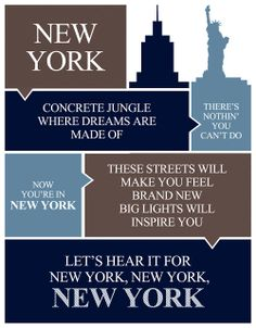 New York State Of Mind .......