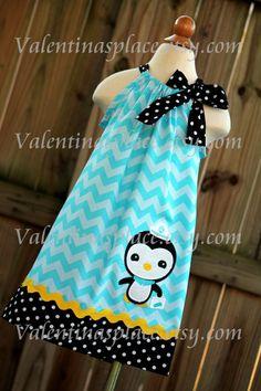 Super Cute Octonaut's Peso inspired pillowcase dress birthday parti, pillowcas dress, pillowcase dresses, octonauts dress, octonaut stuff, octonaut peso, peso dress, kid, inspir pillowcas