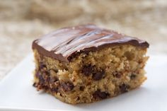 Chocolate Chip Snack Cake | Bake or Break