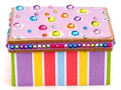 Nicole™ Crafts Rhinestone Box #kids #crafts