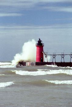 South Haven Lighthouse, Michigan