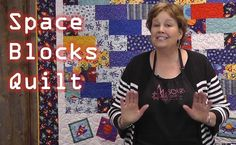 Space Blocks Kids Quilt Tutorial-- Christmas is coming--db