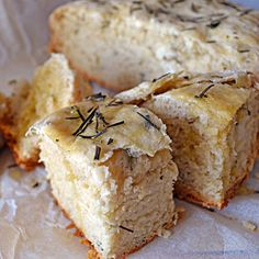 Crockpot Rosemary bread