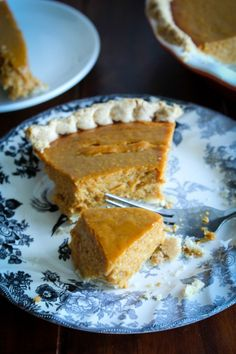 My easy as pie pumpkin pie that is. On the blog http://bakesinslippers.com/love-it-pumpkin-pie/