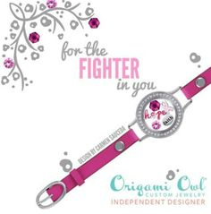 For the fighter in you new Origami Owl wrap bracelet. New to the Fall 2014 Origami Owl jewelry line! Brianar.origamiowl.com