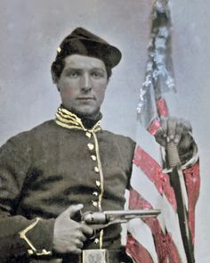 CW Union Cavalry soldier