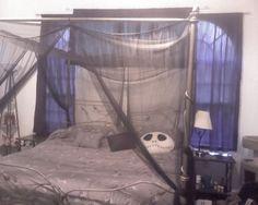 gauzy bedroom