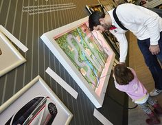 Interactive theatre in store on pinterest window for Green room retail design