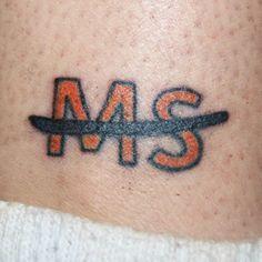 multiple sclerosis tattoo | Multiple Sclerosis Tattoo Winners