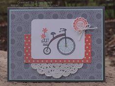 Using Moving Forward stamp set