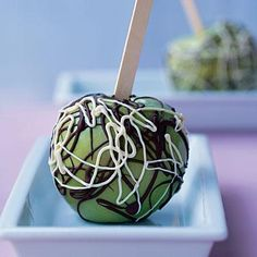 Jackson Pollock Candied Apples | CookingLight.com