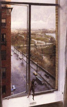 John Koch, Central Park Looking North, 1967