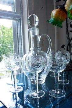 Glasses & Decanter